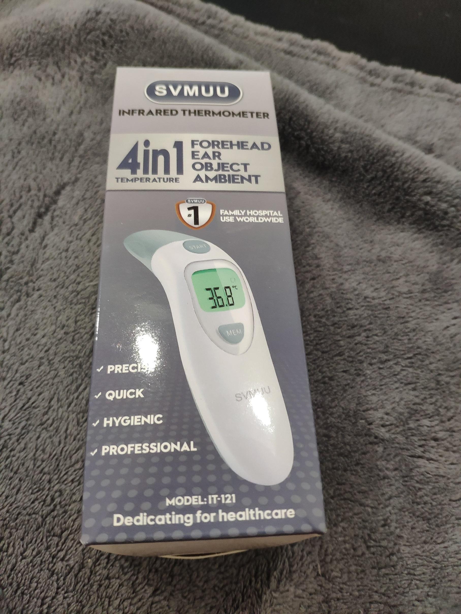 Thermomètre pour Bébé, Enfant, Adulte et environnement
