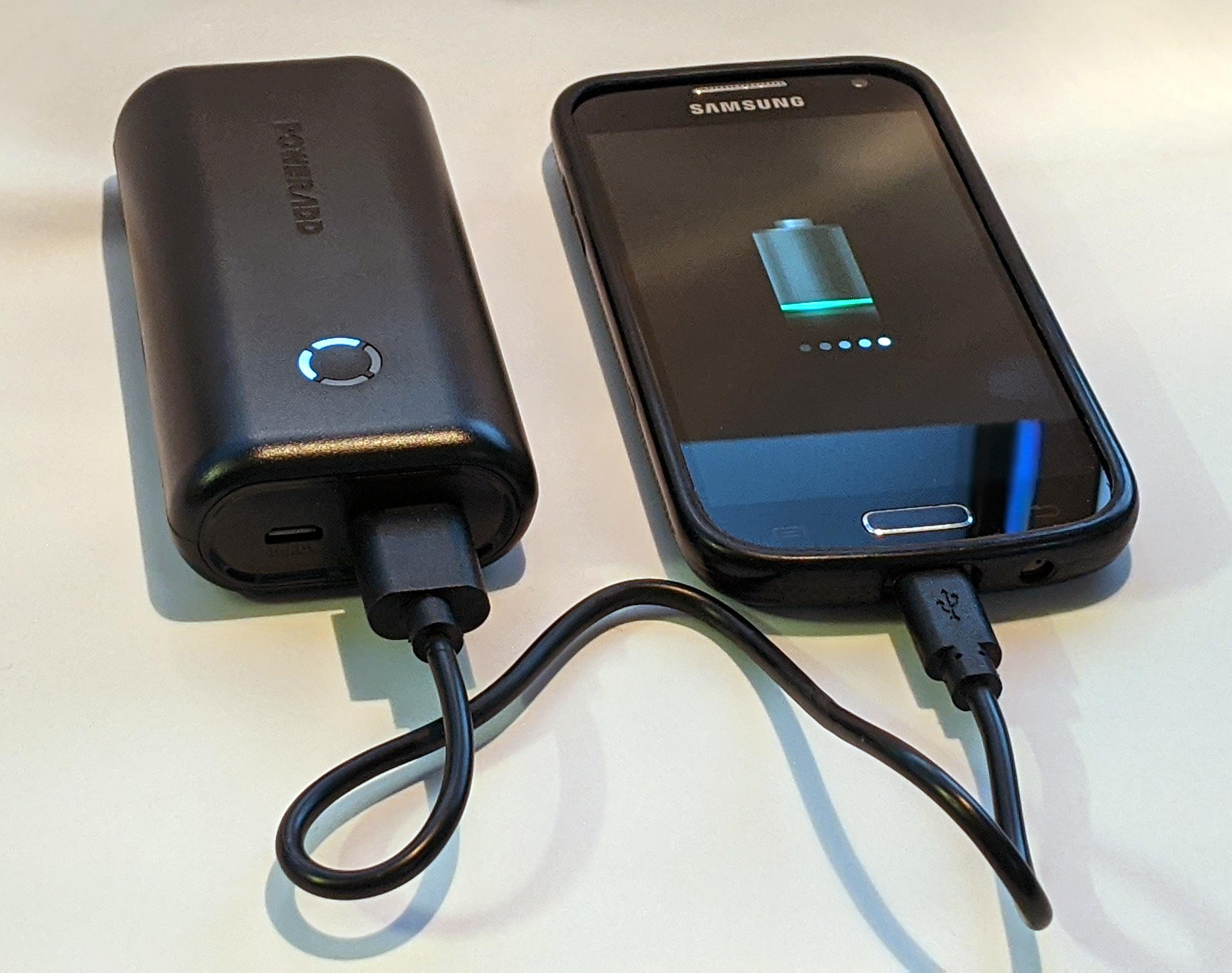 Test de la batterie externe POWERADD EnergyCell 10000