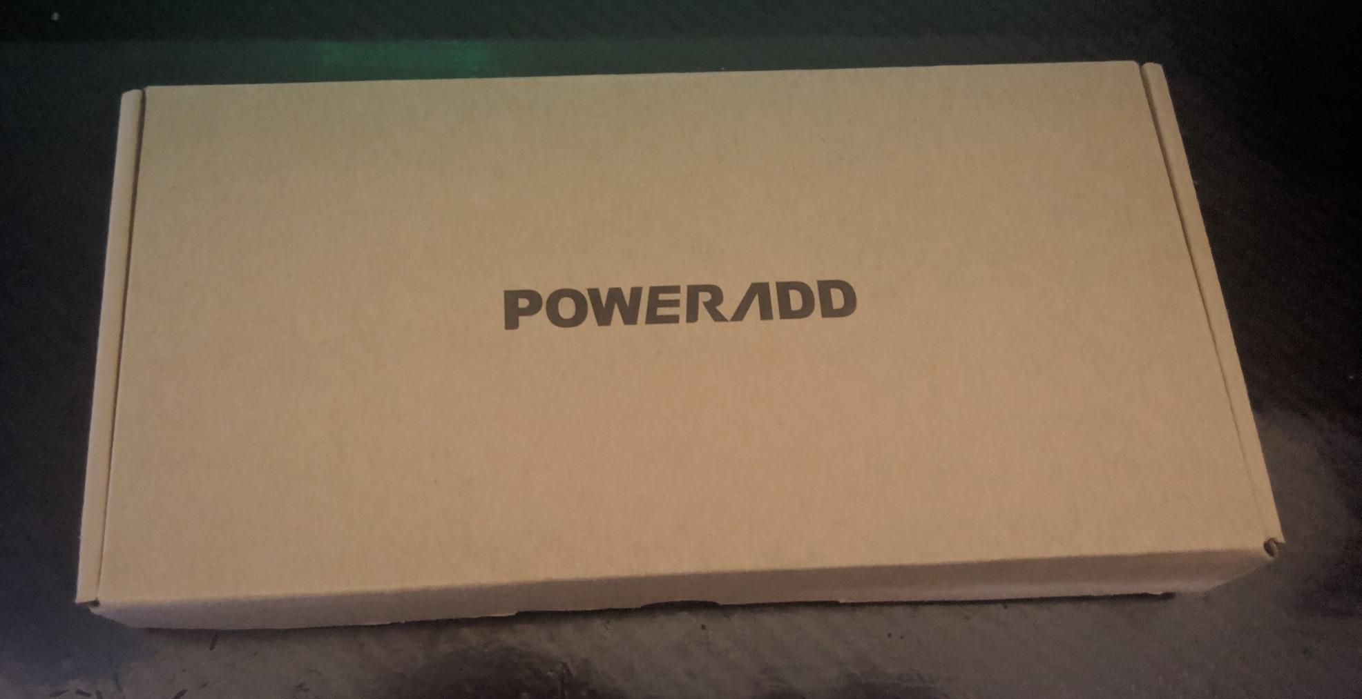 Un monstre de puissance : POWERADD EnergyCell 26800